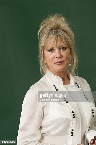Former 1960s model and former wife of George Harrison and Eric Clapton Pattie Boyd pictured at Edinburgh International Book Festival where she talked...