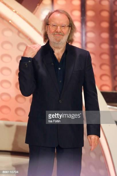Former ABBA member Benny Andresson during the tv show 'Willkommen bei Carmen Nebel' at TUI Arena on September 30 2017 in Hanover Germany