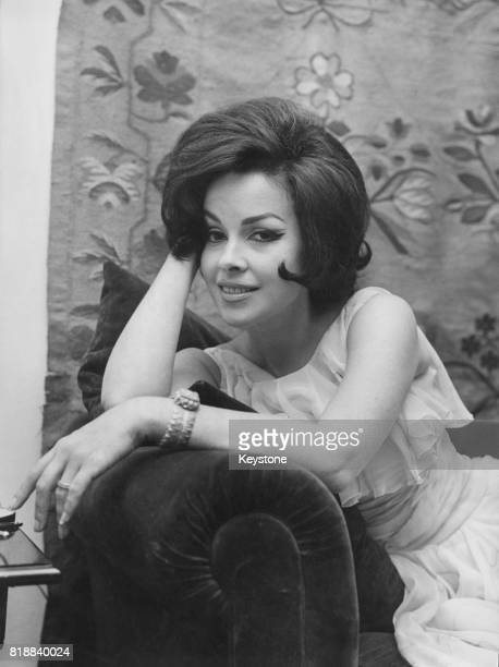 Former actress Mara Lane in Rome Italy where she lives with her husband American businessman William L Dugger 11th May 1962