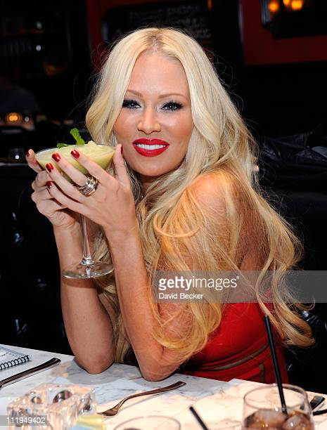 Former adult film actress Jenna Jameson attends her birthday celebration at the Sugar Factory American Brasserie at the Paris Las Vegas on April 9...