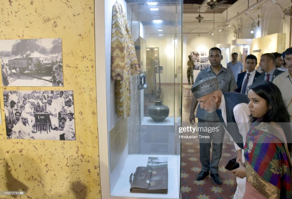 Former Afghanistan President Hamid Karzai Visits Partition Museum In Amritsar