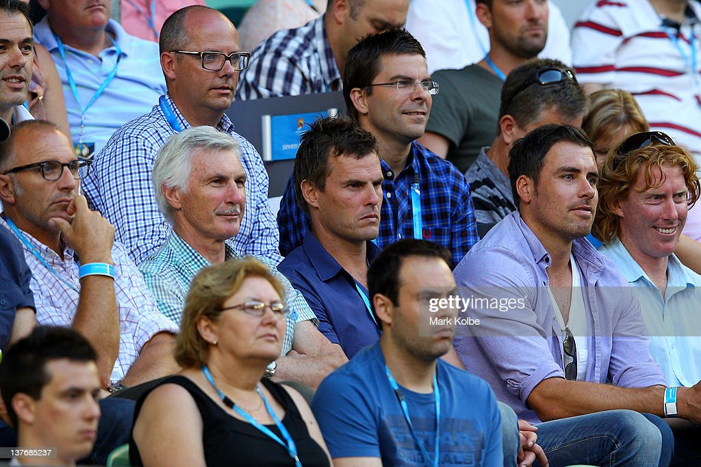 Celebrities At The 2012 Australian Open