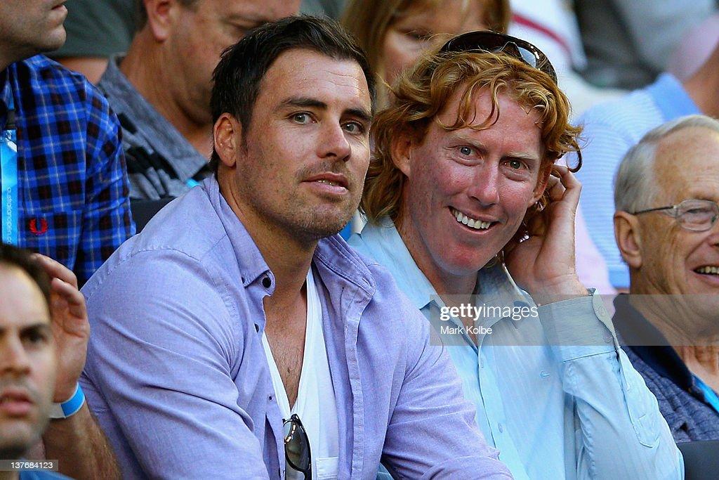 Celebrities At The 2012 Australian Open