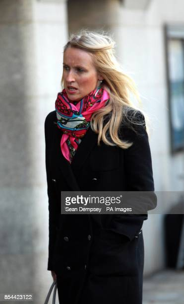 Former Aide to Charles Clarke Hannah Pawlby arriving at the Old Bailey as the phone hacking trial continues