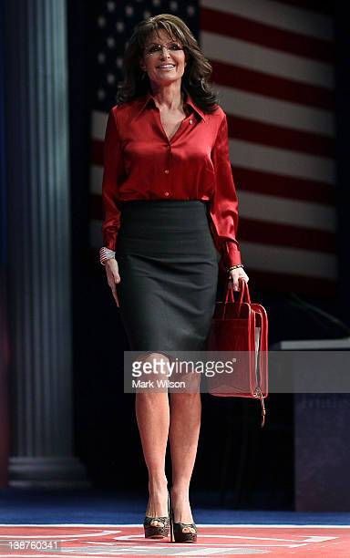 Sarah palin pictures and photos getty images former alaska governor sarah palin walks onstage to address the conservative political action conference at the thecheapjerseys Choice Image