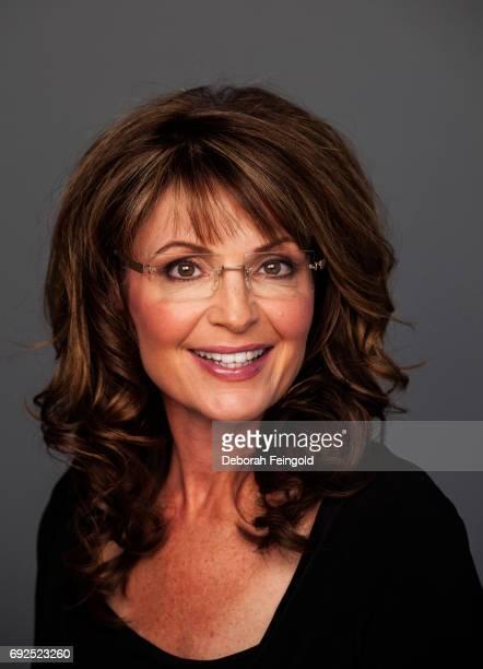 Former Alaskan Governor poses for a portrait in 2010 in New York Sarah Palin in Wasilla Alaska