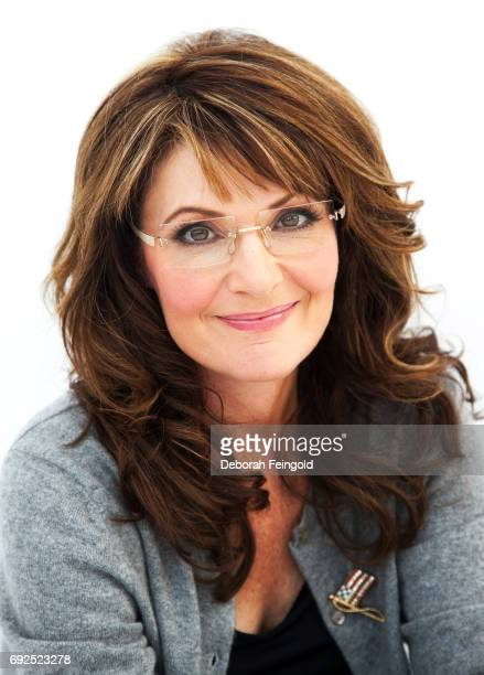 Former Alaskan Governor poses for a portrait in 2010 in New York Sarah Palin in Wasilla Alaska