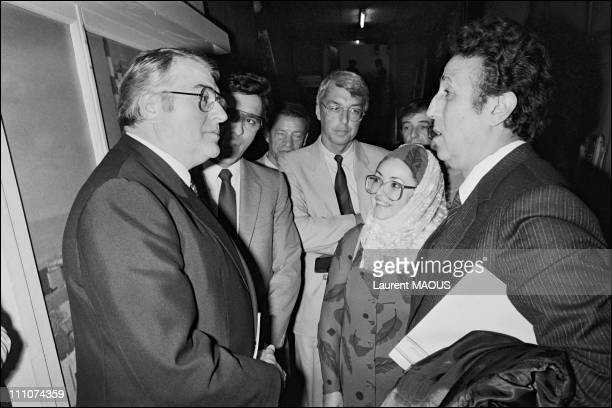 Former Algerian president Ahmed Ben Bella with French prime minister Pierre Mauroy Ahmed Ben Bella was one of the principal leaders of the Algerian...