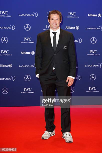 Former All Black Richie McCaw attends the Laureus World Sports Awards 2016 on April 18 2016 in Berlin Germany