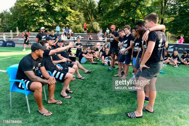 Former All Blacks wing player Anthony Tuitavake, New Zealand National Rugby Union coach PJ Williams, former All Blacks lock Norm Maxwell and New...