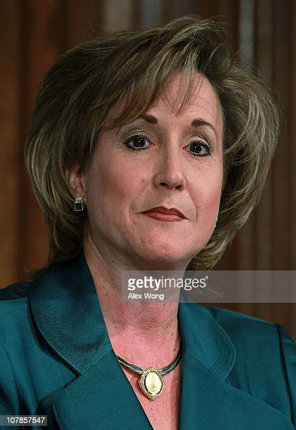 Former Ambassador Ann Wagner participates in a debate between chairmanship candidates of the Republican National Committee cosponsored by Americans...