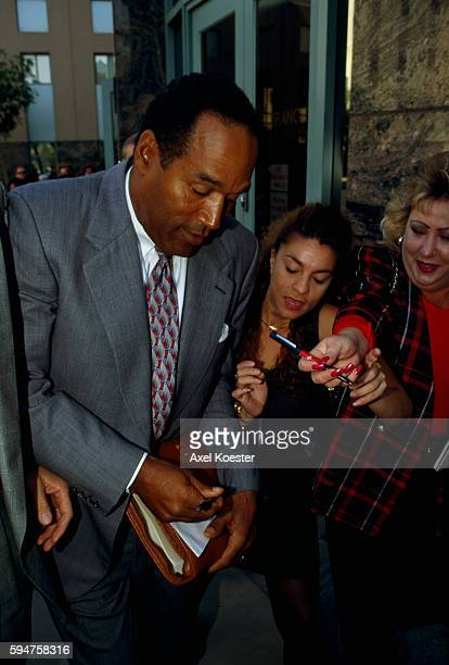 Former American football star and actor O. J. Simpson is tried on two counts of murder following the June 1994 deaths of his ex-wife Nicole Brown...