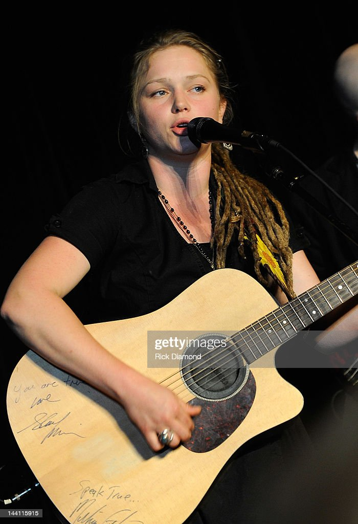 Former American Idol Crystal Bowersox during the 2012 Dempster Foundation casino night at Palmer House Hotel on May 9, 2012 in Chicago, Illinois.