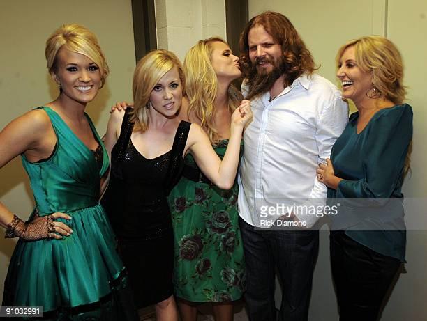 Former American Idol's Singer/Songwriter Carrie Underwood Singer/Songwriter Kellie Pickler Singer/Songwriter Miranda Lambert Singer/Songwriter Jamey...