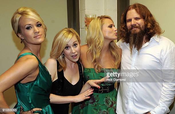 Former American Idol's Singer/Songwriter Carrie Underwood Singer/Songwriter Kellie Pickler Singer/Songwriter Miranda Lambert and Singer/Songwriter...
