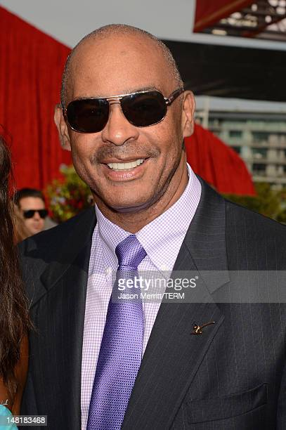 Former American professional football player Kellen Winslow arrives at the 2012 ESPY Awards at Nokia Theatre LA Live on July 11 2012 in Los Angeles...