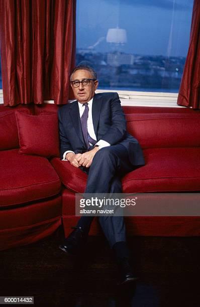 Former American Secretary of State during the Vietnam War, Henry Kissinger.