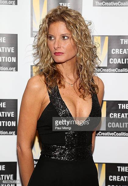 Former Apprentice contestant Summer Zervos attends The Creative Coalition's Inaugural Ball for the Arts at the Harman Center for the Arts on January...
