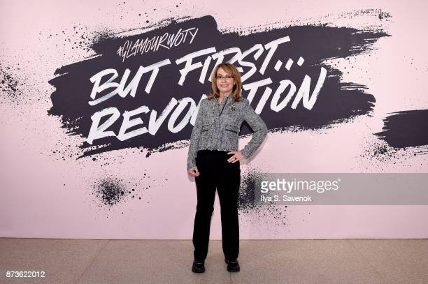 Former Arizona Congresswoman and Founder of Giffords: Courage to Fight Gun Violence Gabrielle Giffords poses during Glamour Celebrates 2017 Women Of...