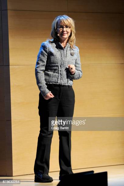 Former Arizona Congresswoman and Founder of Giffords Courage to Fight Gun Violence Gabrielle Giffords speaks onstage during Glamour Celebrates 2017...