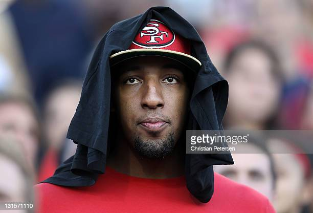 Former Arizona Wildcats basketball player Derrick Williams attends the college football game between the Arizona Wildcats and the Utah Utes at...