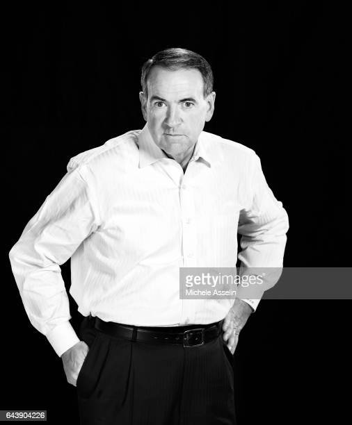 Former Arkansas governor Mike Huckabee is photographed for New York Times Magazine on November 7 2006 in New York City