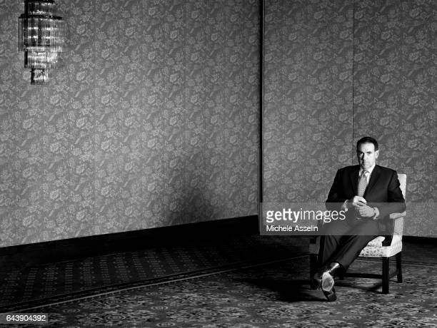Former Arkansas governor Mike Huckabee is photographed for New York Times Magazine on November 7 2006 in New York City PUBLISHED IMAGE