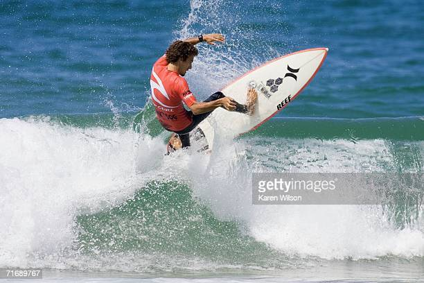 Former ASP world number two Rob Machado from Carlsbad CA USA was a disappointing round one elimination in the Men's World Qualifying Series at the...