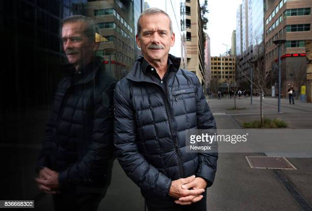 SYDNEY NSW Former astronaut Chris Hadfield poses during a photo shoot in Sydney New South Wales