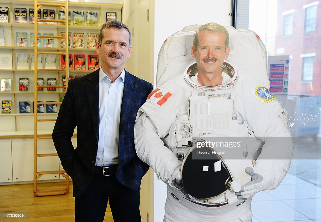 Chris Hadfield: Live From Space Link Up : News Photo