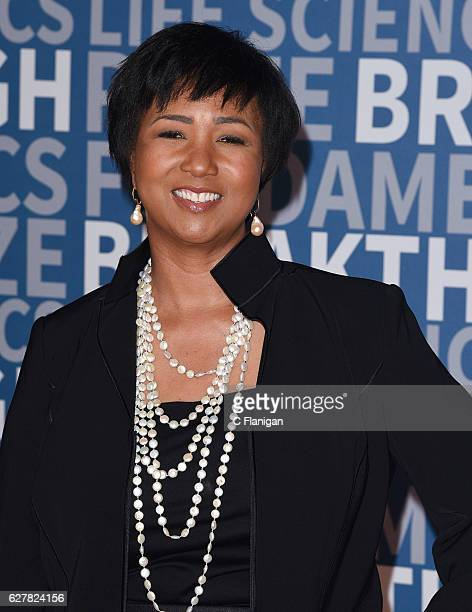 Former astronaut Mae Jemison attends the 2017 Breakthrough Prize at NASA Ames Research Center on December 4 2016 in Mountain View California