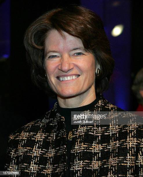 Former astronaut Sally Ride arrives at the induction ceremony for the California Hall of Fame December 6 2006 in Sacramento California The Hall of...