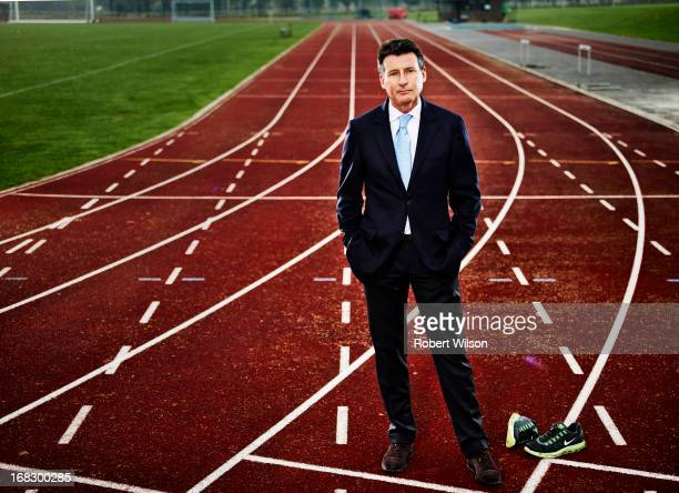 Former athlete and head of the organising committee for the London 2012 Olympic Games sebastian coe is photographed for The Times on October 11, 2012...