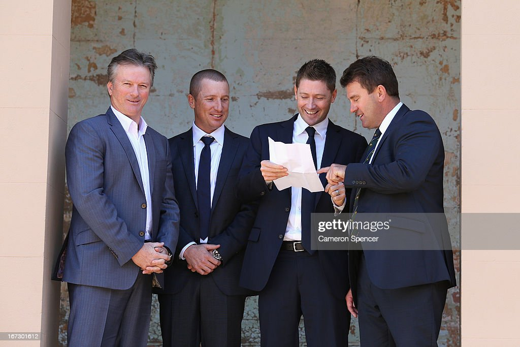 Cricket Australia Press Conference : News Photo