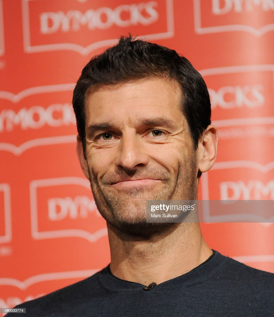 "Mark Webber At ""Aussie Grit"" Book Tour Appearance In Sydney"