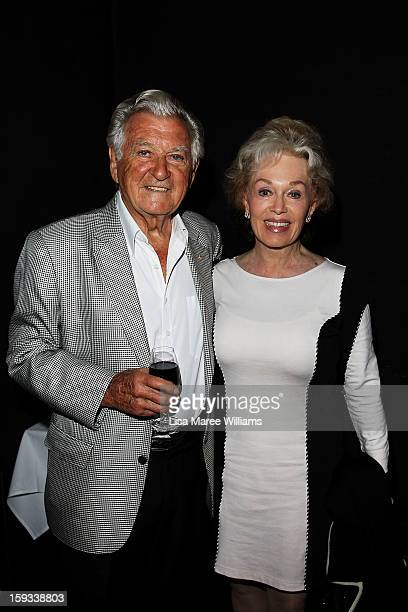 Former Australian prime minister Bob Hawke and his wife Blanche d'Alpuget attend the opening night of The Secret River at the Sydney Theatre Company...