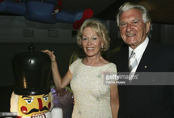 Former Australian Prime Minister Bob Hawke and his wife Blanche D'Alpuget attend the Best of the Best Gala dinner at the Hordern Pavilion on March 13...
