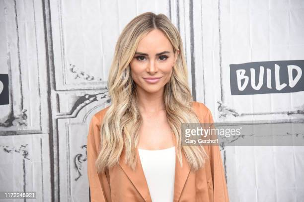 Former 'Bachelor' cast member and author Amanda Stanton visits the Build Series to discuss her book Now Accepting Roses at Build Studio on September...