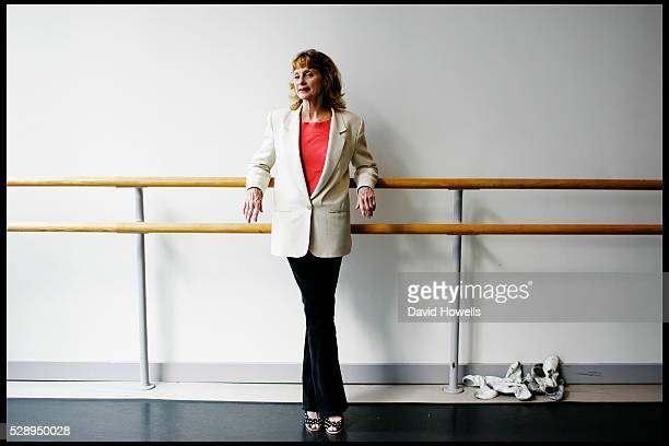 Former ballerina and founder of the Suzanne Farrell Ballet at the Kennedy Center in Washington DC Suzanne Farrell poses in a dance studio in New York...