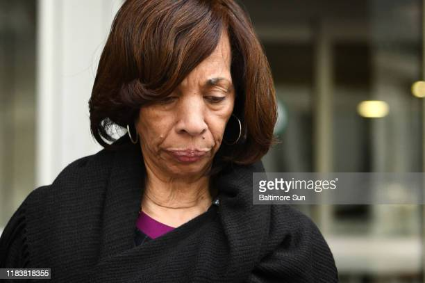 Former Baltimore mayor Catherine Pugh leaves the federal courthouse after pleading guilty to conspiracy and tax evasion related to her Healthy Holly...