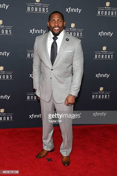 Former Baltimore Ravens linebacker Ray Lewis attends the 2015 NFL Honors at Phoenix Convention Center on January 31 2015 in Phoenix Arizona