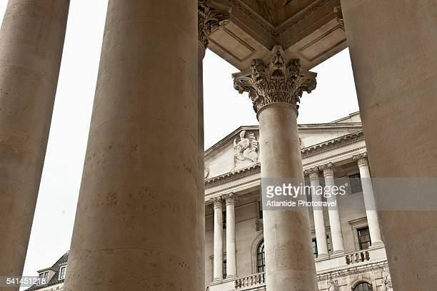 former bank of england building, today commercial center - central bank stock pictures, royalty-free photos & images