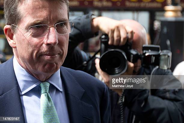 Former Barclays Chief Executive Bob Diamond arrives at Parliament on July 4 2012 in London England Mr Diamond who resigned as Barclays Bank Chief...