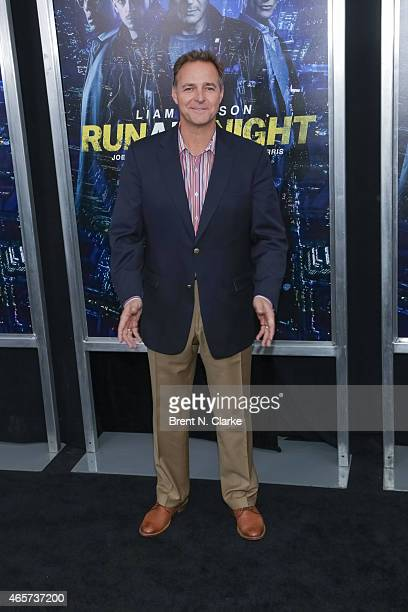 Former baseball player Al Leiter arrives for the 'Run All Night' New York Premiere at AMC Lincoln Square Theater on March 9 2015 in New York City