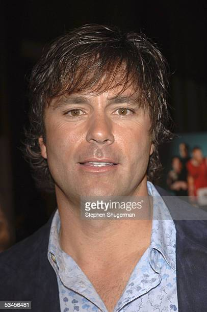 Former baseball player and Producer Todd Zeile atttends the world premiere of Dirty Deeds at the Directors Guild of America on August 23 2005 in Los...