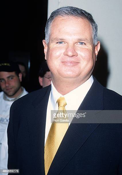 Former baseball player Jim Morris attends The Rookie New York City Premiere on March 26 2002 at the Astor Plaza Theatre in New York City