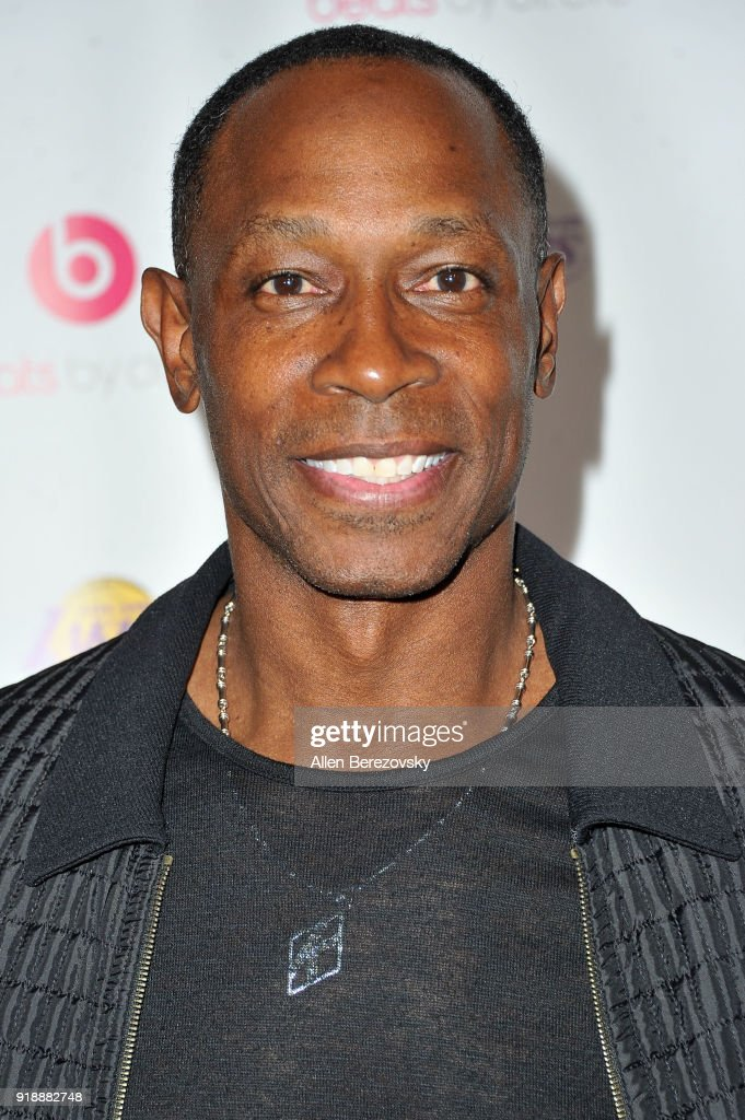 Former baseball player Kenny Lofton attends the NBA All-Star Bowling Classic at Lucky Strike LA Live on February 15, 2018 in Los Angeles, California.