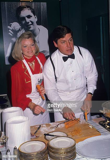 Former baseball player Tom Seaver and wife Nancy attend the First Annual Gourmet Gala to Benefit the Greater New York March of Dimes Birth Defects...