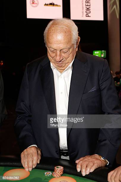 Former baseball player Tommy Lasorda attends the Los Angeles Police Memorial Foundation Celebrity Poker Tournament and Party held at Avalon Hollywood...