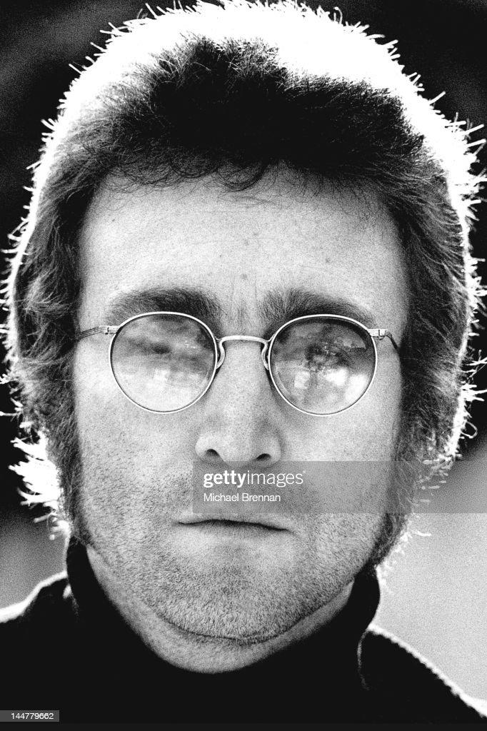 Former Beatle John Lennon (1940 - 1980) in Beverly Hills, California, 1979.